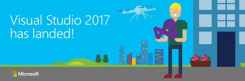 Visual Studio 2017 has landed!