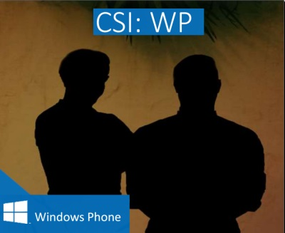 C.S.I.: WP - Windows Phone 8 Roadshow