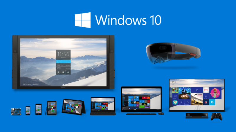 Windows 10 on all devices